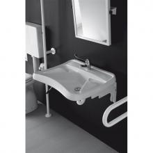 Lave-mains pour handicapés