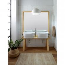 Meuble en bois pour lavabo Tinozza cm 121x193 Tela