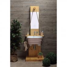 Structure porte-lavabo Tinozza Pozzo