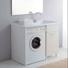 Meuble porte machine à laver avec lavoir 106x60 Medusa