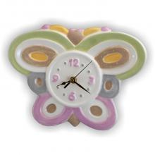 Horloge Papillon 28 x 22