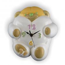 Horloge Ours 22x24 cm