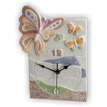 Horloge Papillon Rectangulaire 22x30 cm