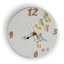 Round Clock Ø32