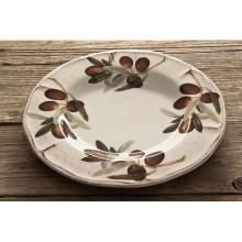 Assiette Festonnée Olive