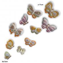 Papillons 10 pièces