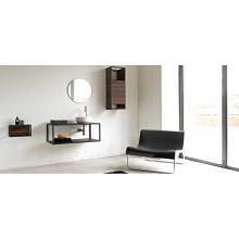 Structure porte-lavabo avec étagères Frame