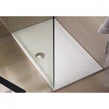 Receveur de douche rectangulaire 80x140xH5.5 Texture