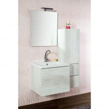 Composition salle de bains suspendue cm 95 Unika