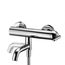 Mitigeur de baignoire externe complet avec accessoires de douche Franciacorta