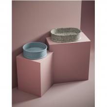 Lavabo ovale à poser 60x40 cm Atelier Marmi & Graniglie
