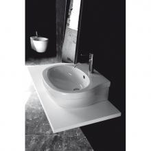 Lave-mains Suspendu/à poser 1 trou X.One