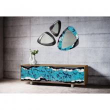 Meuble de design en bois et pierre de lave Life Oceanside