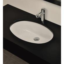 Lave-mains Sous Plan cm 46.5x38 Oval 105