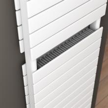 Radiateur décoratif sêche-serviettes double avec convecteur L500 mm Plain
