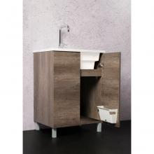 Meuble porte-lavabo au sol Unika