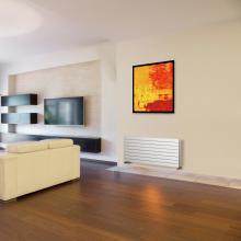 Radiateur décoratif sêche-serviettes hydraulique H292 mm Plain Horizontal