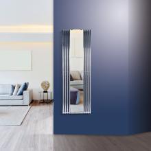 Radiateur décoratif sêche-serviettes hydraulique avec miroir H1800x600 mm Tubon Espejo