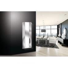 Radiateur décoratif sêche-serviettes hydraulique avec miroir H1800x600 mm Marcelo Espejo