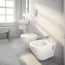Couple wc + bidet suspendus My