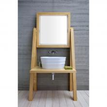 Meuble en bois porte-lavabo  cm 100x204 Camerino