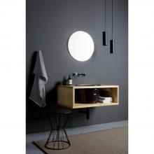 Meuble suspendu porte-lavabo cm 90x32 Cornice