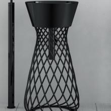 Structure en Métal Wire Noir