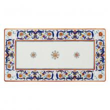Table rectangulaire en pierre de lave Ricco Deruta