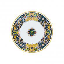 Table ronde en pierre de lave Grandi Maioliche