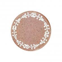Table ronde en pierre de lave Roma