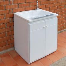 Bac lavoir avec meuble pour extérieur cm 60x50xH84 Zeus