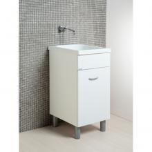 Lavoir Oceano 45x51 avec vasque en céramique