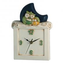 Owl Horloge et de la Lune