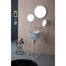 Structure en méTal avec miroirs Manichino