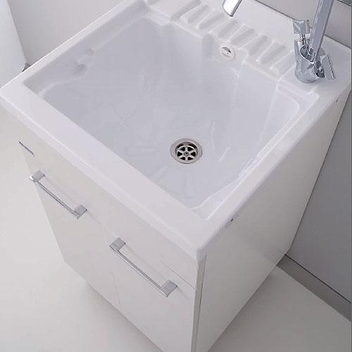 Meuble lavoir avec deux portes et vasque ABS Medusa