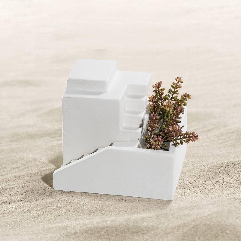 Vase Maison dans le Desert