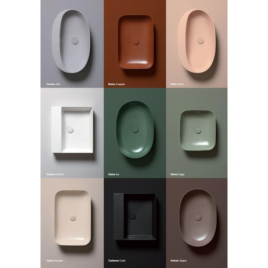 Lave-mains Semi-encastré/à poser cm 90 Soft Elegance