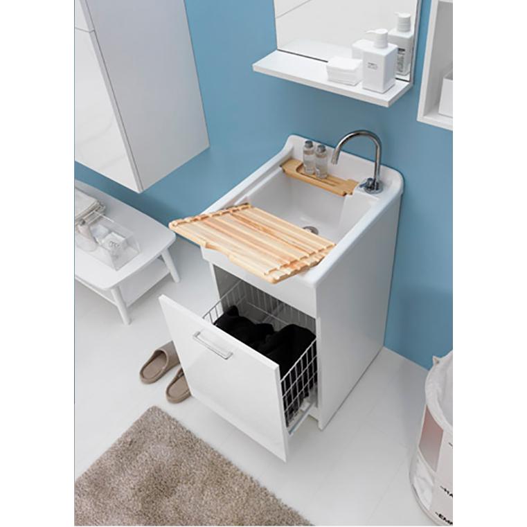 Lavoir d'intérieur 45x50xH86 avec axe de lavage Swash