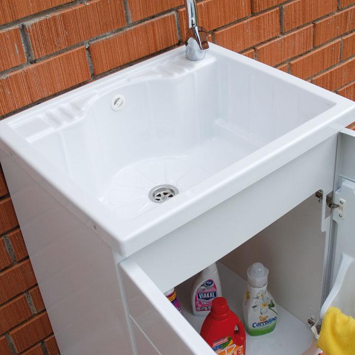 Bac lavoir avec meuble pour extérieur Lemon
