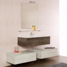 Composition Suspendue salle de bains cm 170 Unika
