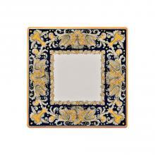 Table carrée en pierre de lave Draghi Verdi