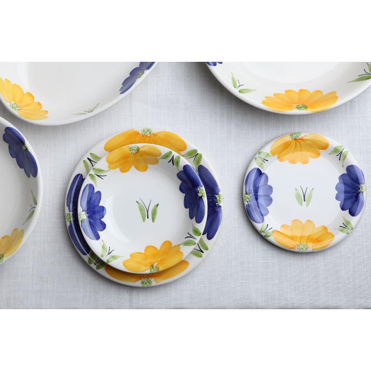 Les assiettes en céramique avec un design Made in Italy