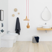 Choisissez l'ameublement de salle de bains fabriqué en Italie que vous préférez!